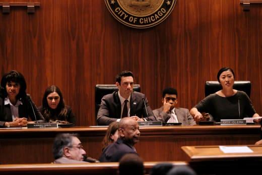 Mayor's Council - Pearson Season 1 Episode 9