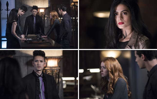Team huddle shadowhunters s3e7