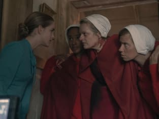 June and the other handmaids - The Handmaid's Tale Season 4 Episode 1