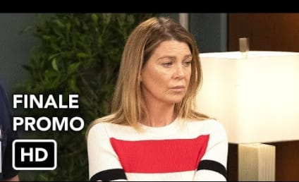Grey's Anatomy Season Finale Promo: DeLuca in Cuffs!