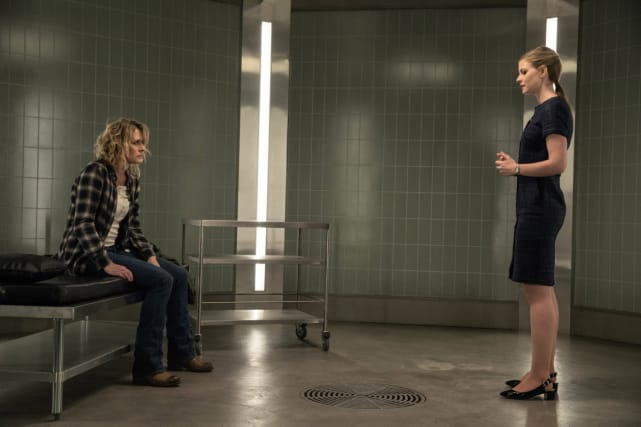 Toni and Mary together again - Supernatural Season 12 Episode 21