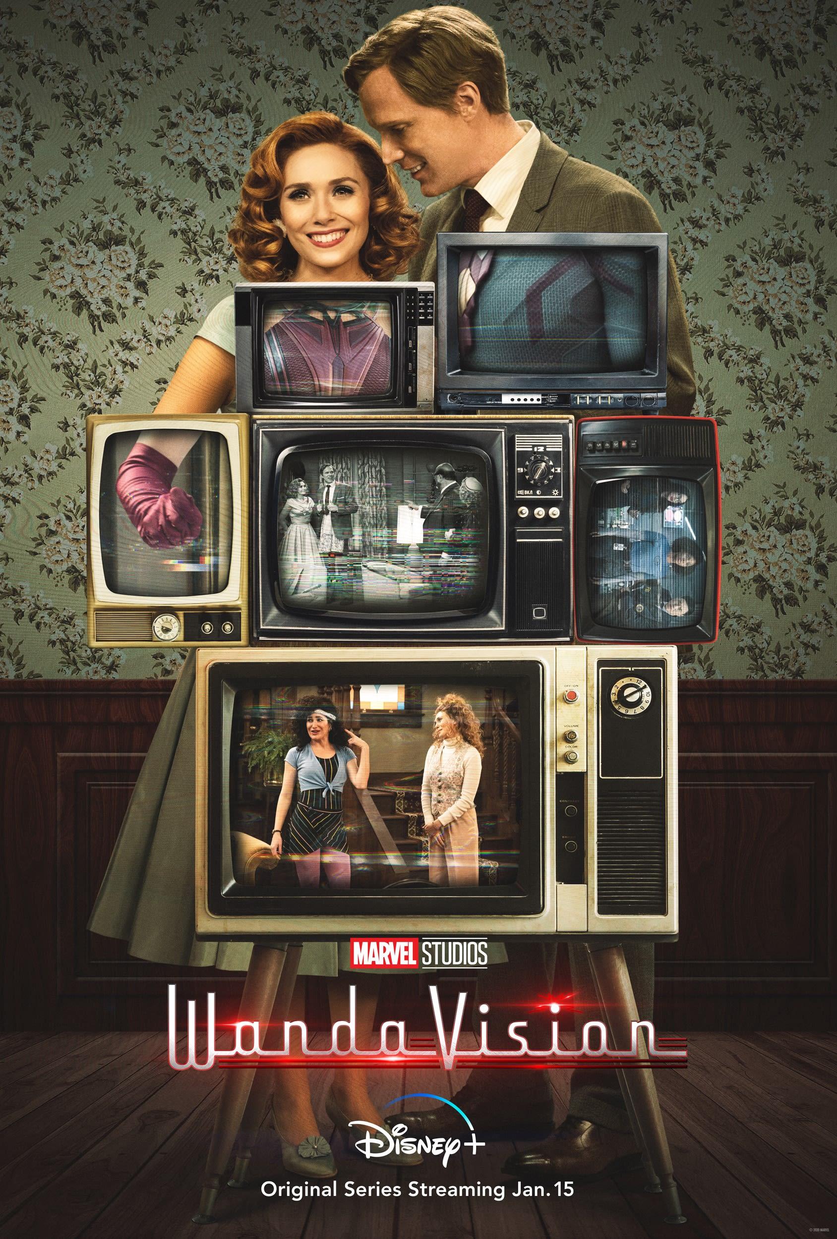 """Wandavision Poster 48x32/"""" 40x27/"""" 36x24/"""" 21x14/"""" TV Series 2020 Art Print Silk"""