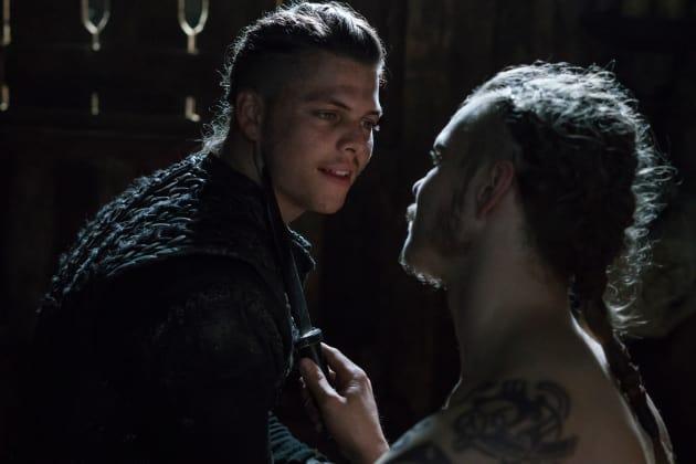 Hvitserk Challenges Ivar - Vikings Season 5 Episode 17