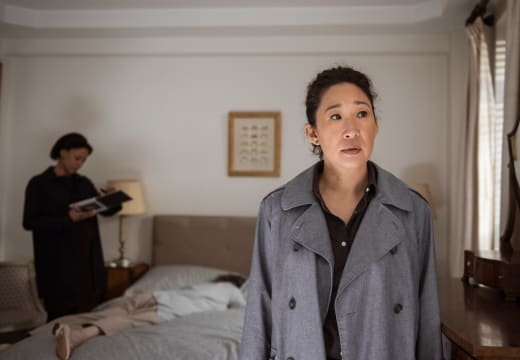 Found While Dying her Mustache - Killing Eve Season 2 Episode 4