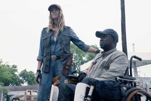 We come in peace? - Fear the Walking Dead Season 4 Episode 11