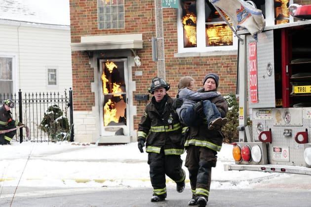 Fire Rescue - Chicago Fire Season 4 Episode 14