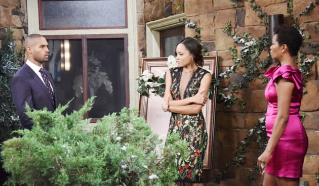 Another Baby Confrontation - Days of Our Lives