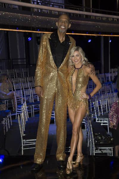 Kareem Abdul-Jabbar and Lindsay Arnold - Dancing With the Stars: Athletes Season 26 Episode 1