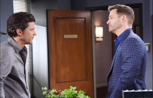 Brady Apologizes - Days of Our Lives