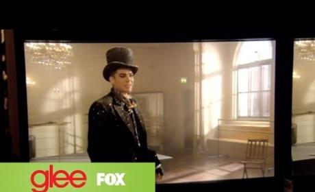 Glee: Behind the Scenes with Adam Lambert