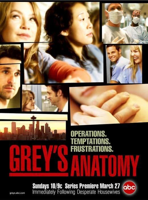 Tv fanatic greys anatomy
