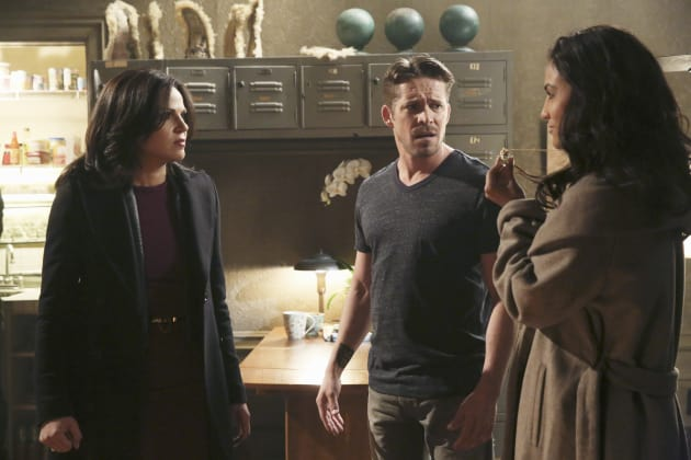 Regina and Robin - Once Upon a Time
