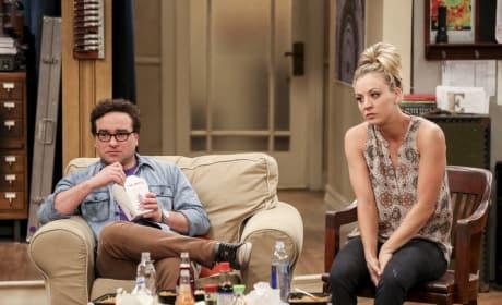 Penny isn't Happy - The Big Bang Theory Season 10 Episode 24