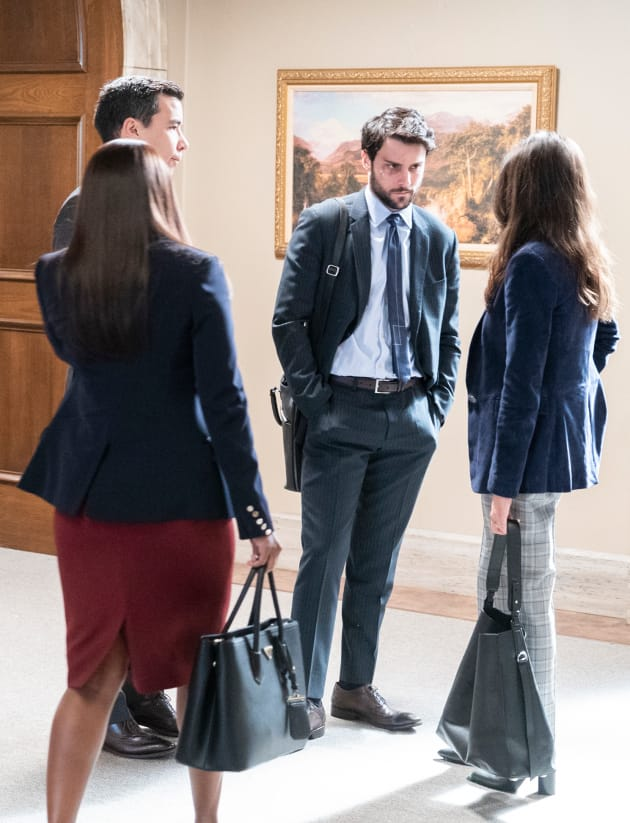 Meeting Up - How To Get Away With Murder Season 5 Episode 12