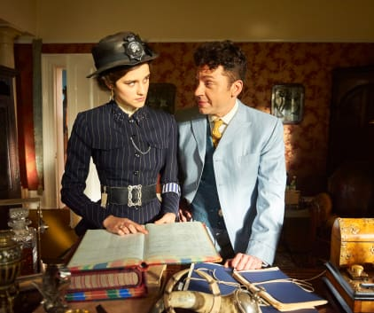 Adelaide and Harry - Houdini & Doyle