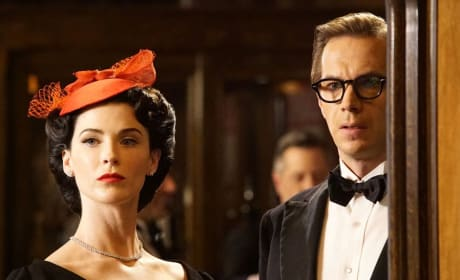 Dottie and Jarvis - Marvel's Agent Carter