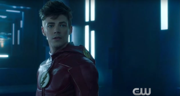 Barry is Worried - The Flash