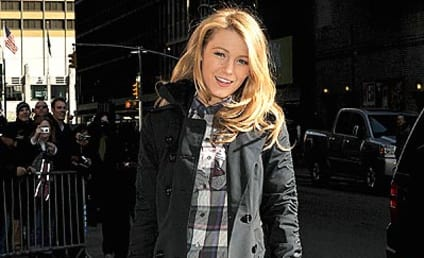 Blake Lively Visits The Late Show