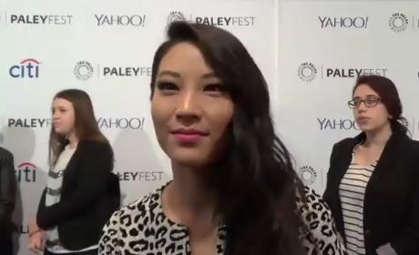 Arden Cho PaleyFest Interview