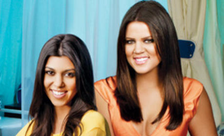 Khloe and Kourtney Picture