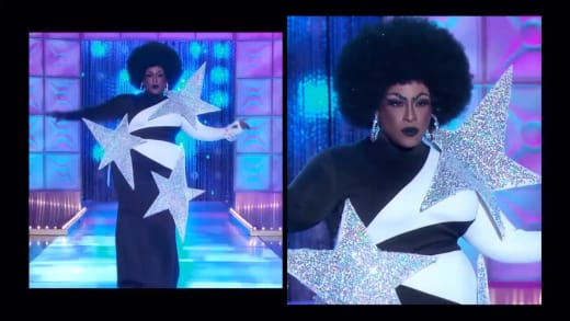 Widow Von'Du Political Runway - RuPaul's Drag Race Season 12 Episode 9