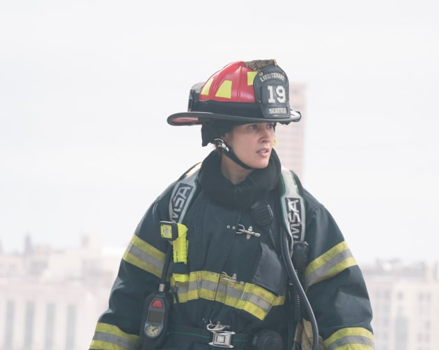Andy Captain for the Day - Station 19 Season 1 Episode 3