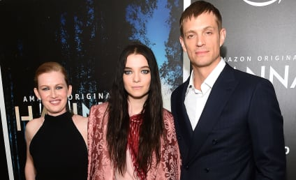 Mireille Enos and Joel Kinnaman on Hanna, Reconnecting, Esme Creed-Miles & More!