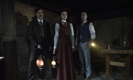 Do you want a second season of Houdini & Doyle?