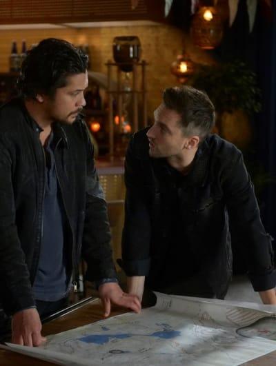 Bellamy and Murphy - The 100 Season 6 Episode 5