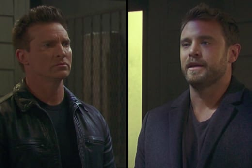 Jason and Drew Face Off — General Hospital