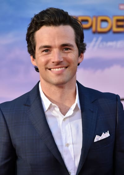 Ian Harding Attends Spider-Man Premiere
