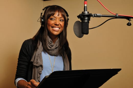 Aisha Tyler Behind the Scenes - Archer
