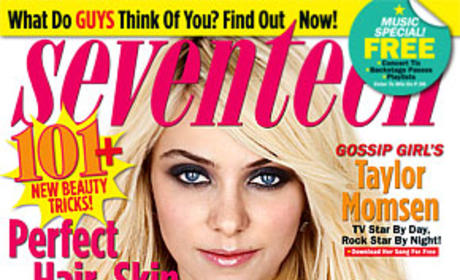 Taylor Momsen Seventeen Cover