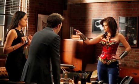 Erica Durance on Harry's Law
