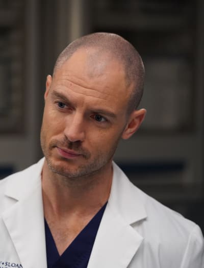 Getting to Know McWidow - Tall  - Grey's Anatomy Season 16 Episode 11