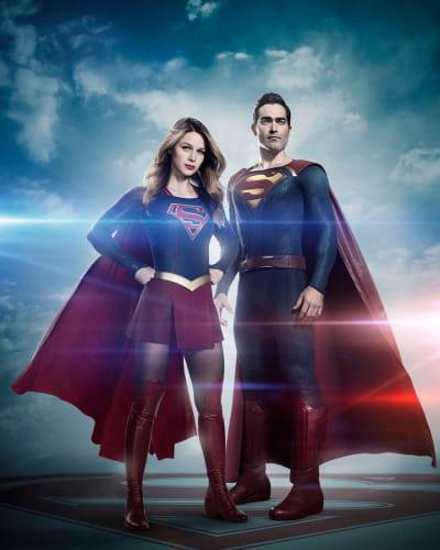 Supergirl & Superman!