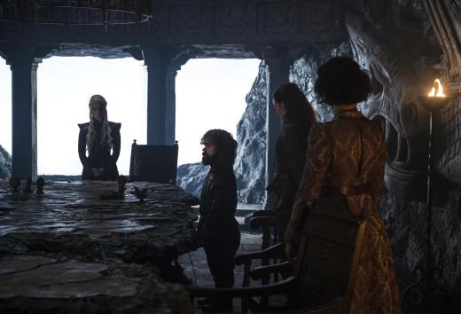 Plotting - Game of Thrones Season 7 Episode 2