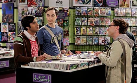 Big Bang Theory Boys