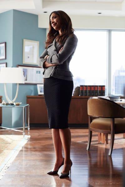 Jessica's Power Pose - Suits Season 5 Episode 5