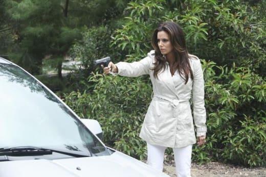 Gaby with a Gun