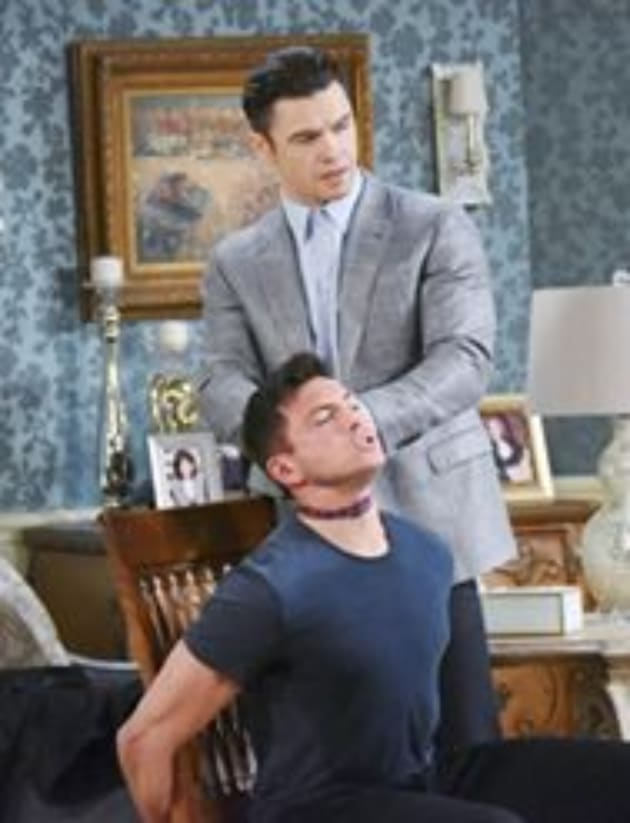 Xander Attacks Ben - Days of Our Lives