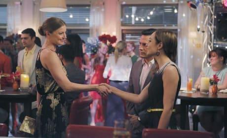 Emily Meets Agent Taylor - Revenge Season 4 Episode 10