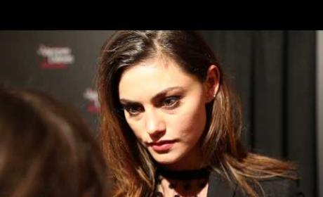 Phoebe Tonkin Celebrates The Vampire Diaris