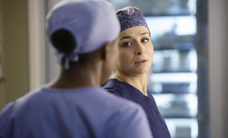 Amelia on Grey's Anatomy