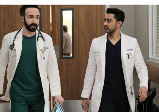 Devon and Irving on the Move  - The Resident Season 4 Episode 8
