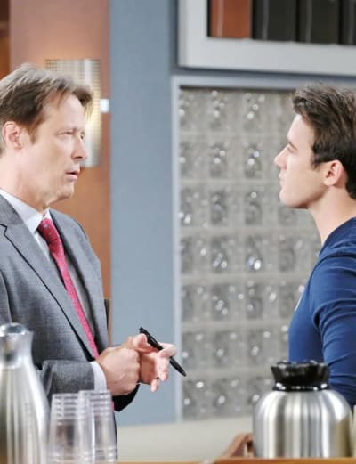 (TALL) Offering a Deal - Days of Our Lives