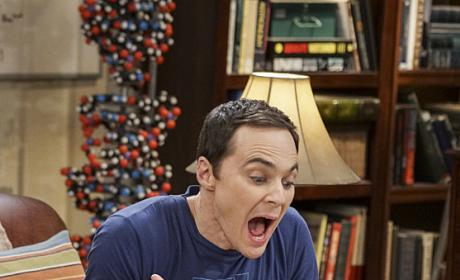 Sheldon Can't Handle It! - The Big Bang Theory Season 10 Episode 9