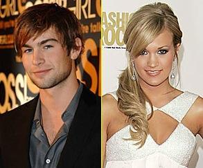 Carrie Underwood and Chace Crawford