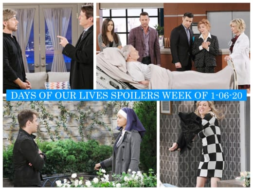 Days of Our Lives - Spoilers Week of 1-06-20