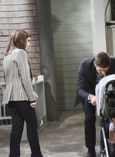 (TALL) Taking Care of Baby David - Days of Our Lives